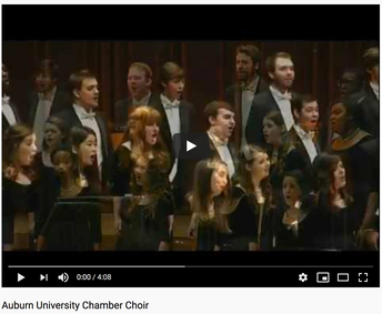 Auburn U - Chamber Choir