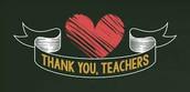 2017 Thank-A-Teacher for the Holiday!
