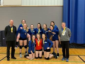 Grade 9A girls' volleyball team
