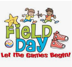 Field Day is Coming on Wednesday - GO RED!