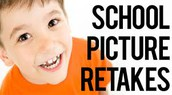 School Picture Re-Takes - 10/25