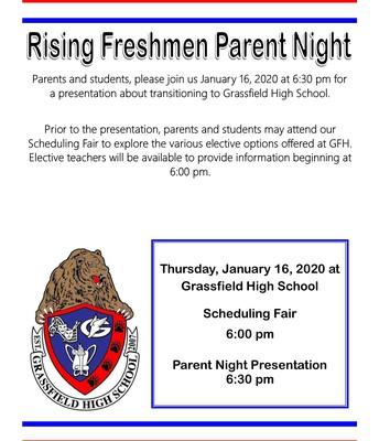 Calling all Rising 9th Grade Grizzlies