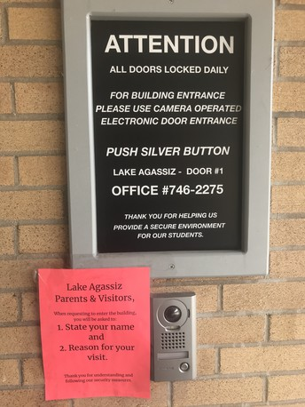 Push to Talk School Entrance System