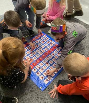 Kindergarten 100th Day Activities