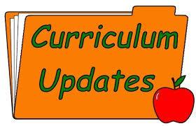 Curriculum Updates