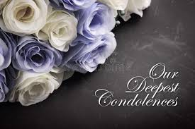 Our deepest condolences