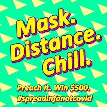 12.  Video Challenge: #spreadinfonotcovid