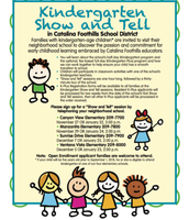 Kindergarten Show and Tell