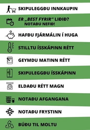 10 húsráð gegn matarsóun