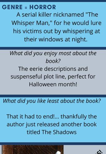 Staff Book Reviews