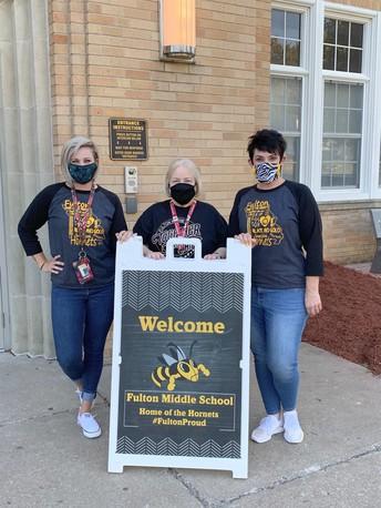 FMS Counseling Department:  Mrs. Burfield, Mrs. Horstmeier and Ms. Jo