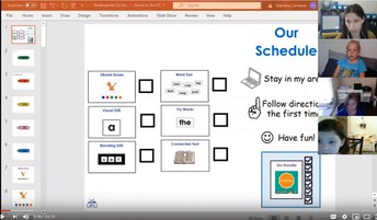 Small Group Sample Virtual Lesson - Kindergarten