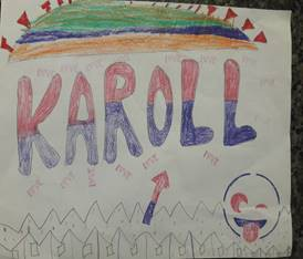 Name Design by Karoll Dominguez Gallues