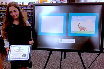 Board of Education Artist of the Month!