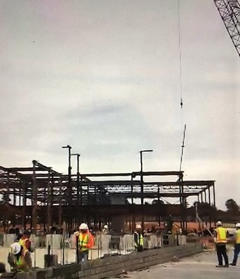 Steel going up