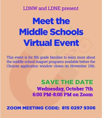 Meet the Magnet Middle School Night