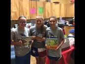 Krum Middle School Donates Books!