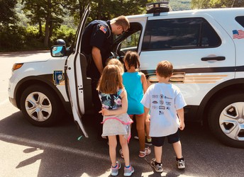 Community Heroes Week at SMS Preschool Summer Camp