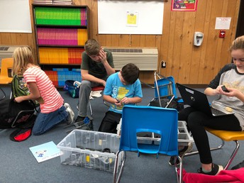 Robotics Club at Veale and North Elementary Schools