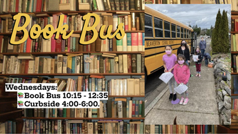 Book Bus New Times and Curbside Check-out