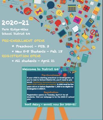 2020 - 2021 Registration