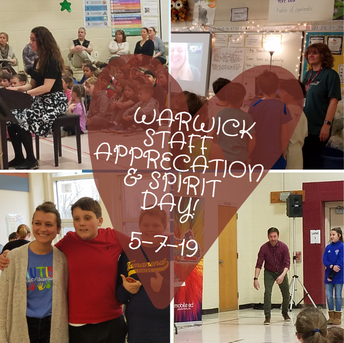 Warwick Staff Appreciation & Spirit Day