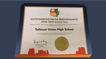 Outstanding FAFSA Completion Schools