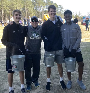 Gators of the Week:  RB Basketball Players Serve the Community at Rotary Fest