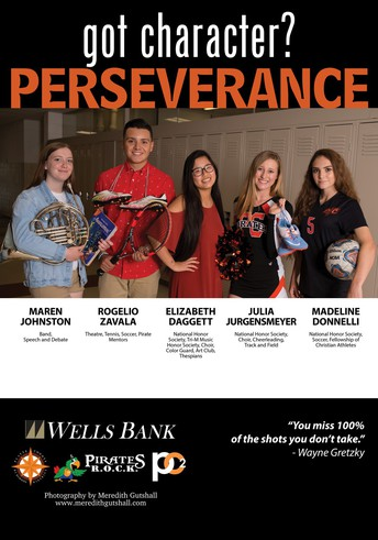 Pirates R.O.C.K. Character Trait: PERSEVERANCE