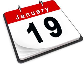 Goldenball Schedule 1/19