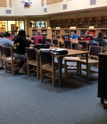 Another awesome class utilizing their school library. I love to collaborate and co-teach. Join me in the library!