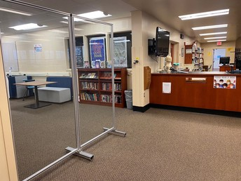 We are located in the Fugett MS library!