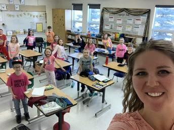 Pink Shirt Day at KPS