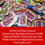 BOXTOPS STUDENT CONTEST:
