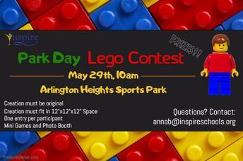 Inspire Park Day Lego Contest!
