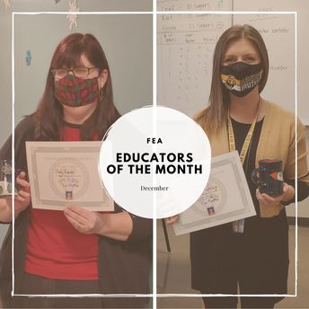 FEA December Educators of the Month