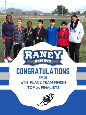 Congratulations To Our Cross Country Team