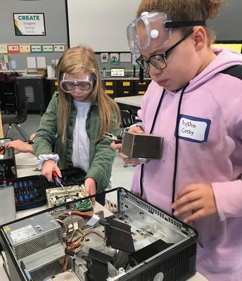 4th Grade Machine Dissection Lab