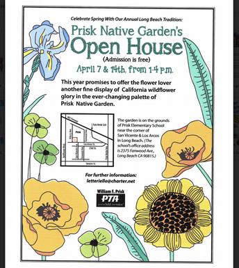 Prisk Native Garden Open House!