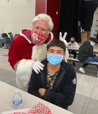 Aiden & Santa