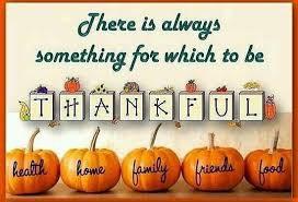 Miller's Thanksgiving Message