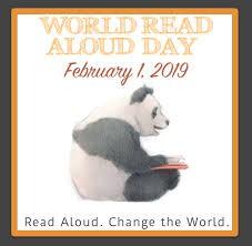 World Read Aloud Day - Feb. 1, 2019