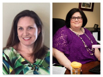 Dr. Erin Shaw and Dr. Amy Thompson:
