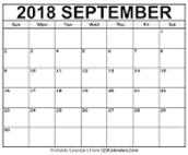 September 2018 Library Evevnts