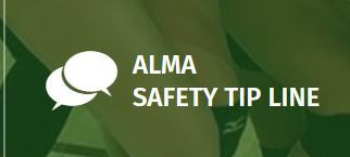 Alma Safety Tip Line