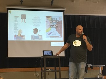 Charles Waters' Author Visit to Claxton