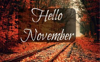 Hello November 2019 !