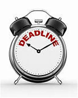 Deadlines and Principal Actions For The Week of 6/14/21