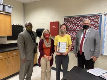 Congratulations Ms. Birnbaum!