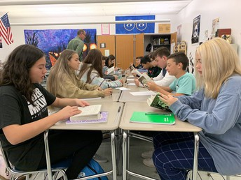 Mr. Hein's Speed Dating Exercise